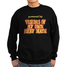 Powered By Visions Fiery Death Jumper Sweater