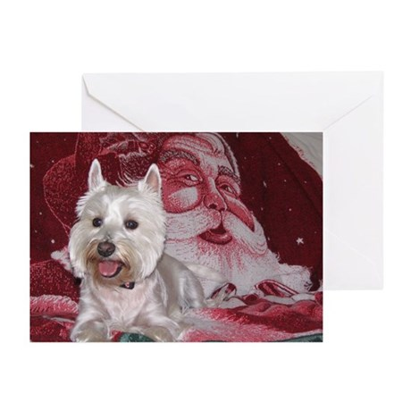 Westie Greeting Cards (Pk of 20)