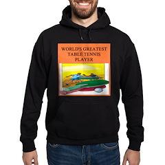 table tennis gifts t-shirts Hoodie (dark)