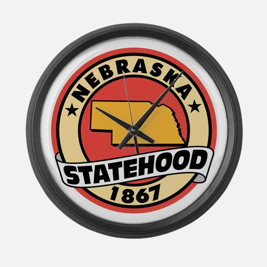 State Pride! Large Wall Clock