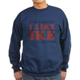 I like ike Sweatshirt (dark)