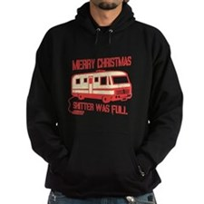 Merry Christmas, Shitter Was Hoodie