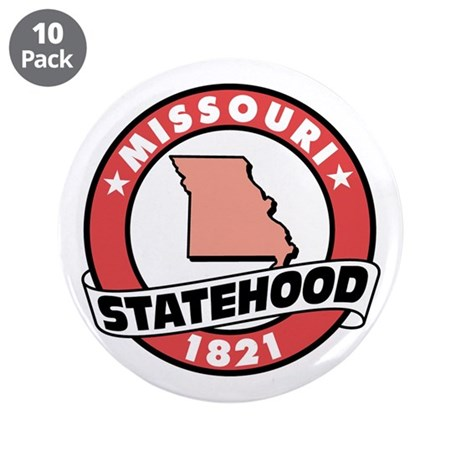 "State Pride! 3.5"" Button (10 pack)"