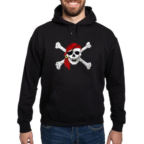 Pirate Skull Hoodie (dark)