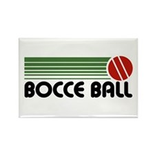 Bocce Ball Rectangle Magnet