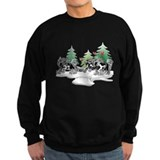 Christmas sweatshirts Sweatshirt (dark)