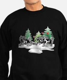 Gypsy Vanner Winter Sweatshirt (dark)