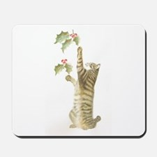 Reaching for Mistletoe Mousepad