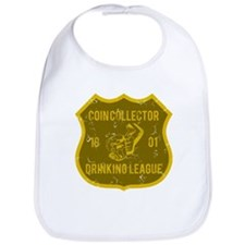 Coin Collector Drinking League Bib