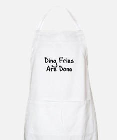 Ding Fries Are Done! BBQ Apron