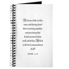 MARK 12:28 Journal