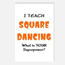 teach square dance Postcards (Package of 8)