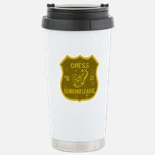 Chess Drinking League Stainless Steel Travel Mug