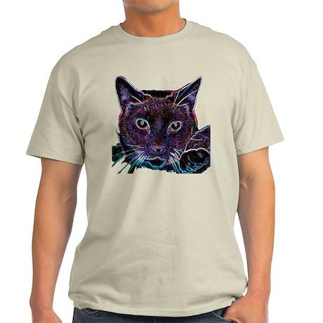Glowing Cat Light T-Shirt
