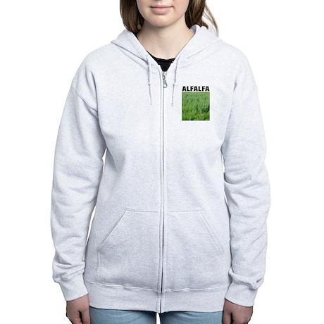 Alfalfa Women's Zip Hoodie