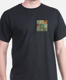 Curling Pop Art T-Shirt