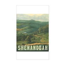 Shenandoah Rectangle Decal