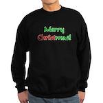Christ in Christmas Sweatshirt (dark)