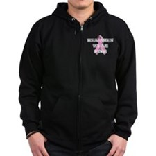 Real Men Wear Pink Zip Hoodie