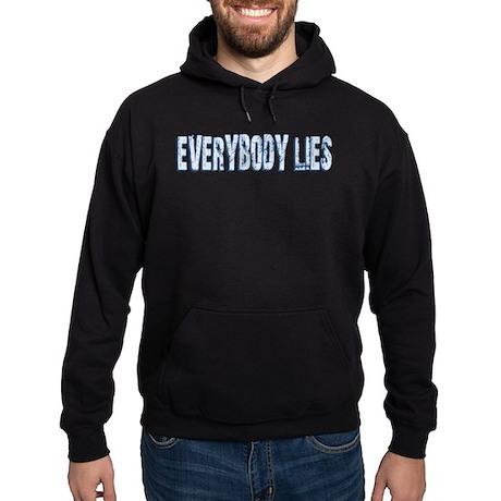 Retro Everybody Lies Hoodie (dark)