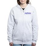 Retro Women's Zip Hoodie
