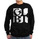 GLBT White Pocket Pop Sweatshirt (dark)