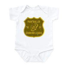 Paintballer Drinking League Infant Bodysuit