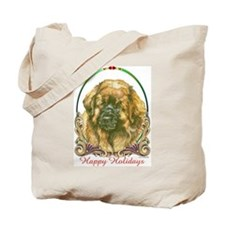Leonberger Holiday Tote Bag
