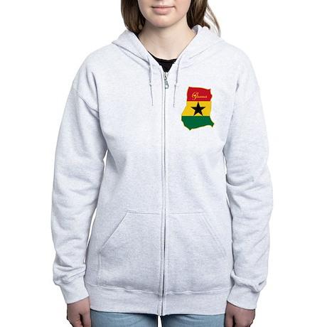 Cool Ghana Women's Zip Hoodie