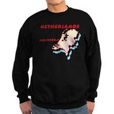 Netherlands Map Sweatshirt