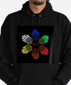 Celebrate Diversity Circle Hoodie (dark)