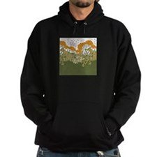Arts and Crafts Trees Hoodie