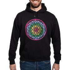 Flower of Life - Rainbow Hoodie