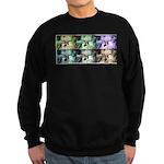 Warhol Palms Sweatshirt (dark)