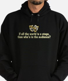 All the World's a Stage Hoodie (dark)