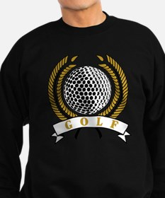 Classic Golf Emblem Sweatshirt (dark)