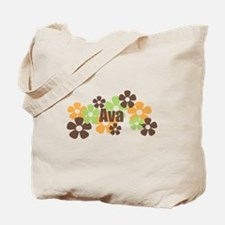 Ava - Fall Flowers Tote Bag