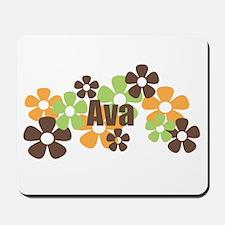 Ava - Fall Flowers Mousepad