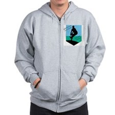 Good Pitching Zip Hoodie