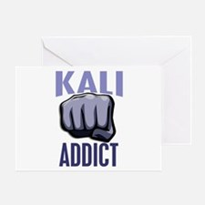 Kali Addict Greeting Card