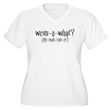Cute Weimaraner dog T-Shirt