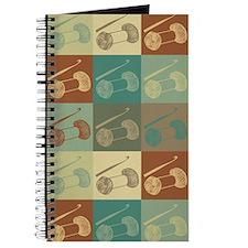 Crocheting Pop Art Journal