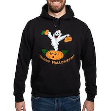 Happy Halloween Pumpkin Ghost Hoodie