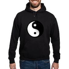 Black and White Yin Yang Bala Hoodie
