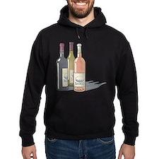 Trio of Wine Hoodie