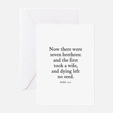 MARK  12:20 Greeting Cards (Pk of 10)