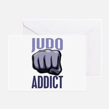 Judo Addict Greeting Card