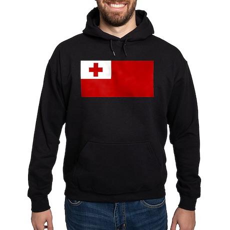 Tonga Flag Hoodie (dark)