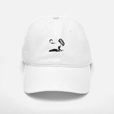 Kiteboarding White Baseball Baseball Cap