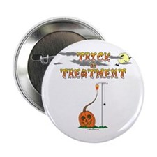 "Trick Or Treatment 2.25"" Button"